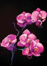 Oil Painting Journal Orchids
