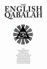The English Qabalah