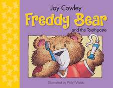 Freddy Bear and the Toothpaste