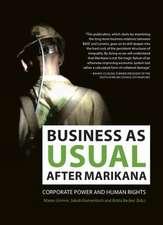 Business as usual after Marikana