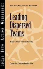 Leading Dispersed Teams