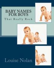 Baby Names for Boys That Really Rock (2014)