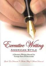 Executive Writing:  American Style