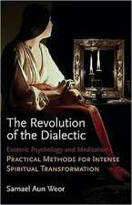 The Revolution of the Dialectic:  Practical Methods for Intense Spiritual Transformation