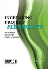 Increasing Project Flexibility:  The Response Capacity of Complex Projects