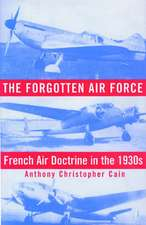 The Forgotten Air Force:  French Air Doctrine in the 1930s