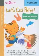 Let's Cut Paper! Amazing Animals: Copii de la 2 ani