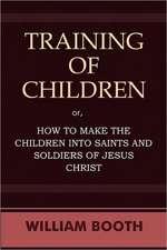 Training of Children