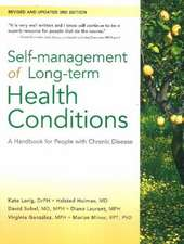 Self-Management of Long-Term Health Conditions: A Handbook for People with Chronic Disease