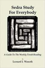 Sedrah Study for Everybody