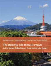 The Demotic and Hieratic Papyri in the Suzuki Collection of Tokai University, Japan