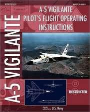 A-5 Vigilante Pilot's Flight Operating Instructions