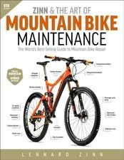 Zinn & the Art of Mountain Bike Maintenance