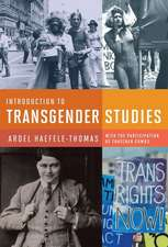 Introduction to Transgender Studies