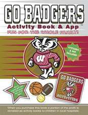 Go Badgers Activity Book & App