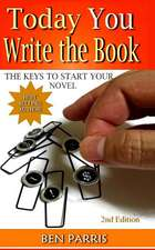 Today You Write the Book