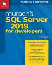Murach's  SQL Server 2019 for Developers