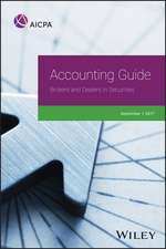 Accounting Guide: Brokers and Dealers in Securities 2017