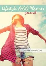 Lifestyle Blog Planner Journal - Lifestyle Blogging Content Planner
