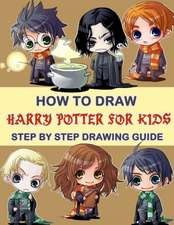 How To Draw Harry Potter For Kids - Step By Step Drawings