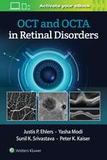 OCT and OCTA in Retinal Disorders