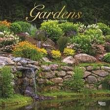 Gardens - Gärten 2020 - 18-Monatskalender