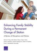 ENHANCING FAMILY STABILITY DURPB