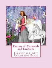 Fantasy of Mermaids and Unicorns