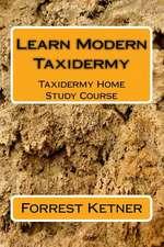 Learn Modern Taxidermy