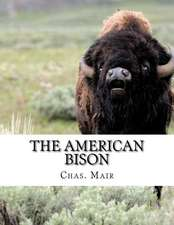 The American Bison: Its Habits, Method of Capture and Economic Use in the North West