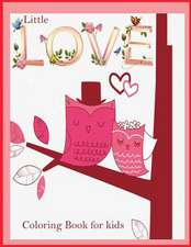 Little Love Coloring Book for Kids ( Valentine Theme)