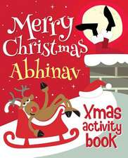 Merry Christmas Abhinav - Xmas Activity Book