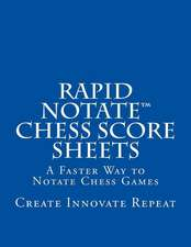 Rapid Notate Chess Score Sheets