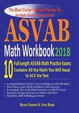 ASVAB Math Workbook 2018