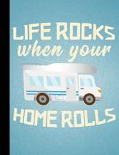 Nomad's, Life Rocks When Your Home Rolls, Composition Book