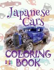 Japanese Cars Coloring Book
