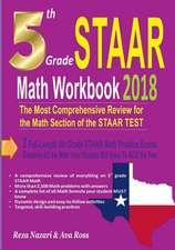 5th Grade Staar Math Workbook 2018