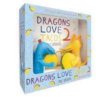 Dragons Love Tacos 2 Book and Toy Set [With Toy]