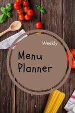 Menu Planner Weekly