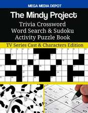 The Mindy Project Trivia Crossword Word Search & Sudoku Activity Puzzle Book