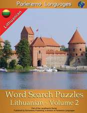 Parleremo Languages Word Search Puzzles Lithuanian - Volume 2