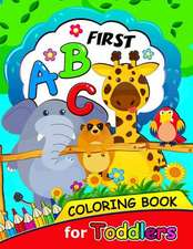 First ABC Coloring Book for Toddlers