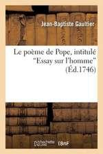 Le Poeme de Pope, Intitule