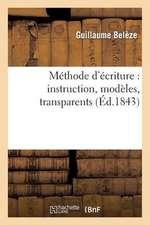 Methode D'Ecriture