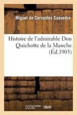 Histoire de L Admirable Don Quichotte de La Manche