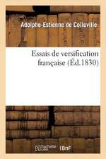 Essais de Versification Francaise