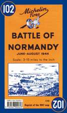 Michelin Map Battle of Normandy 102