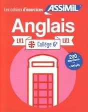 Cahier d'exercices Anglais: Year 6