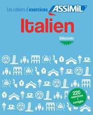 Cahier d'exercices Italien - debutants