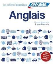 Coffret Cahiers d'exercices ANGLAIS Dbutants + Faux-dbutants